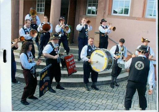 Chrom-Nickel-Kupfer Band - Kärtli vun de Ariane & Marcel - Schorli-Waggis - 30.07.2011