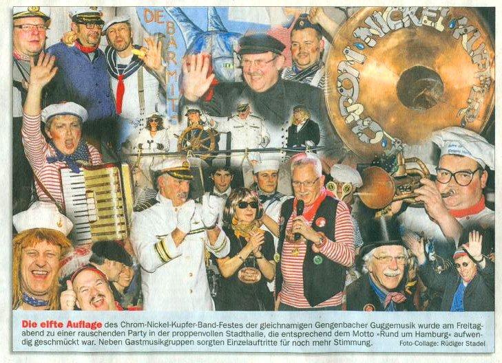 Chrom-Nickel-Kupfer Band - Nachbericht - 11. Chrom-Nickel-Kupfer Band Fest - OT - Rüdiger Stadel