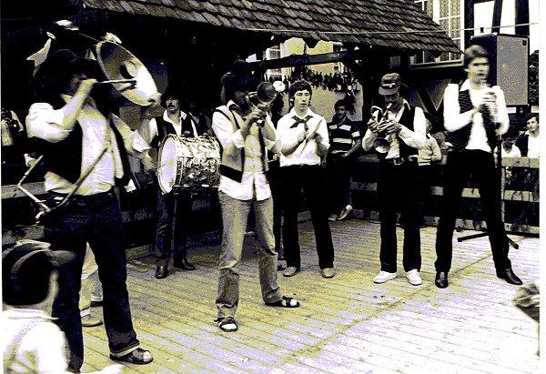 Chrom-Nickel-Kupfer Band - 750 Jahre Stadt Gengenbach - Einer der ersten Auftritte